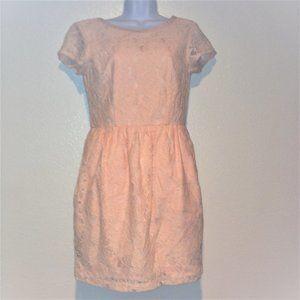 H&M Blush Pink Lace Coctail Dress